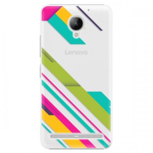 Plastové pouzdro iSaprio - Color Stripes 03 - Lenovo C2