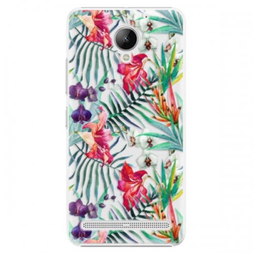 Plastové pouzdro iSaprio - Flower Pattern 03 - Lenovo C2