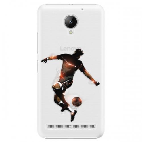 Plastové pouzdro iSaprio - Fotball 01 - Lenovo C2