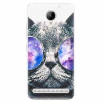 Plastové pouzdro iSaprio - Galaxy Cat - Lenovo C2