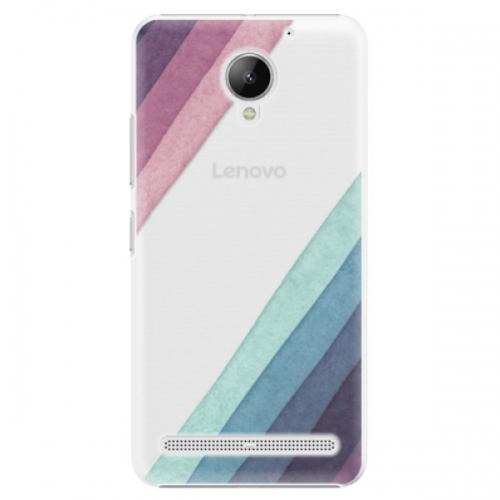 Plastové pouzdro iSaprio - Glitter Stripes 01 - Lenovo C2
