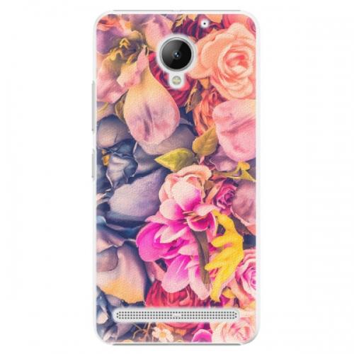 Plastové pouzdro iSaprio - Beauty Flowers - Lenovo C2