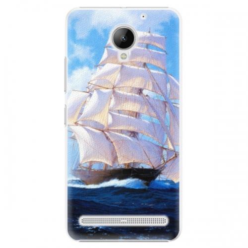 Plastové pouzdro iSaprio - Sailing Boat - Lenovo C2