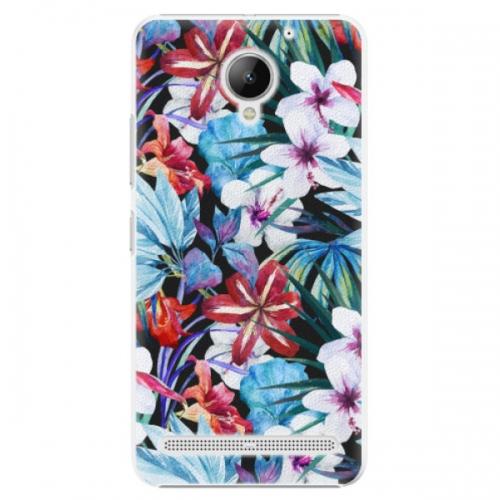 Plastové pouzdro iSaprio - Tropical Flowers 05 - Lenovo C2