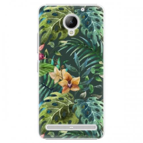 Plastové pouzdro iSaprio - Tropical Green 02 - Lenovo C2
