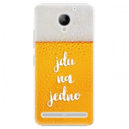 Plastové pouzdro iSaprio - Jdu na jedno - Lenovo C2