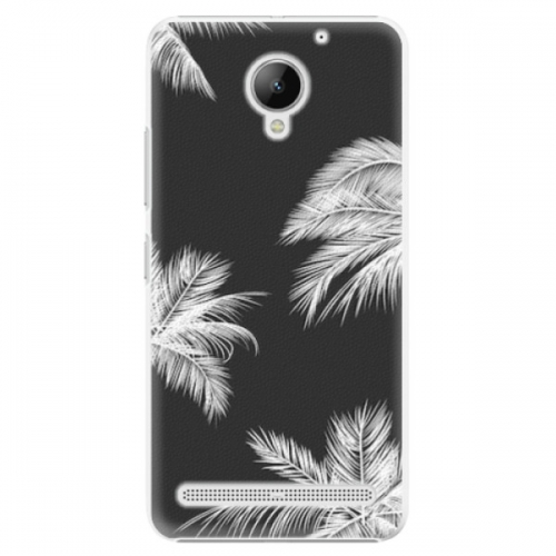 Plastové pouzdro iSaprio - White Palm - Lenovo C2