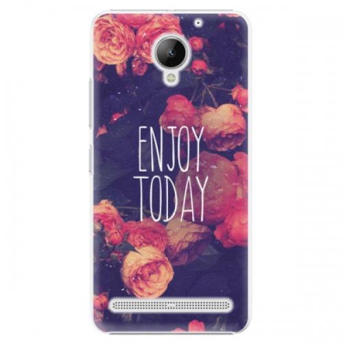 Plastové pouzdro iSaprio - Enjoy Today - Lenovo C2