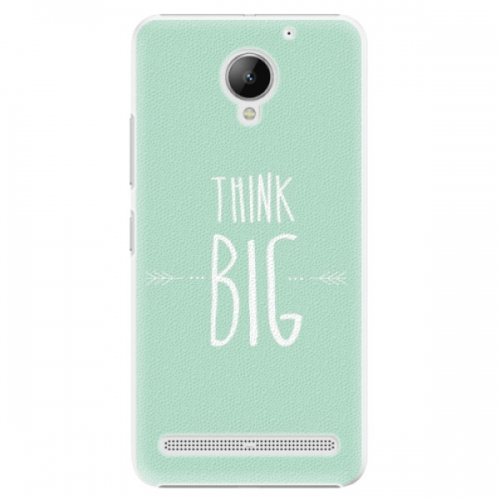 Plastové pouzdro iSaprio - Think Big - Lenovo C2