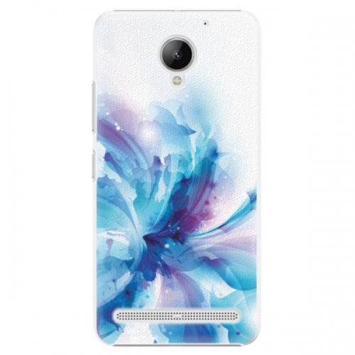 Plastové pouzdro iSaprio - Abstract Flower - Lenovo C2