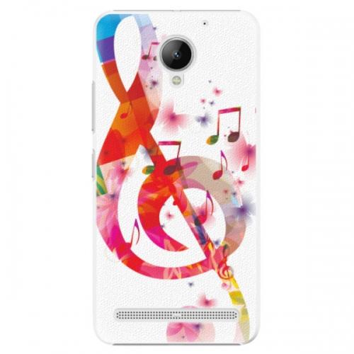 Plastové pouzdro iSaprio - Love Music - Lenovo C2