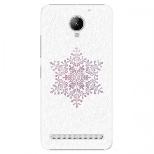 Plastové pouzdro iSaprio - Snow Flake - Lenovo C2