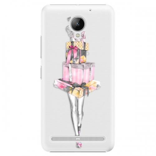 Plastové pouzdro iSaprio - Queen of Shopping - Lenovo C2