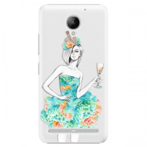 Plastové pouzdro iSaprio - Queen of Parties - Lenovo C2