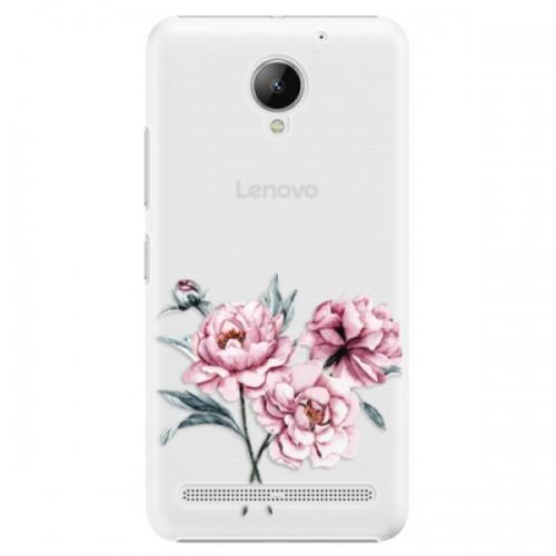 Plastové pouzdro iSaprio - Poeny - Lenovo C2