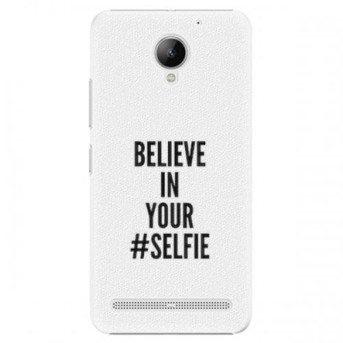 Plastové pouzdro iSaprio - Selfie - Lenovo C2
