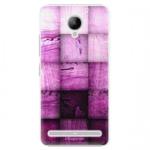 Plastové pouzdro iSaprio - Purple Squares - Lenovo C2