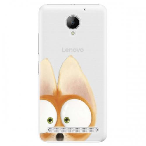 Plastové pouzdro iSaprio - Fox 02 - Lenovo C2