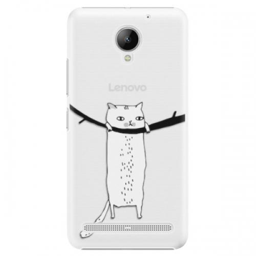 Plastové pouzdro iSaprio - Hang in there - Lenovo C2