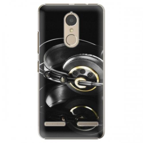 Plastové pouzdro iSaprio - Headphones 02 - Lenovo K6