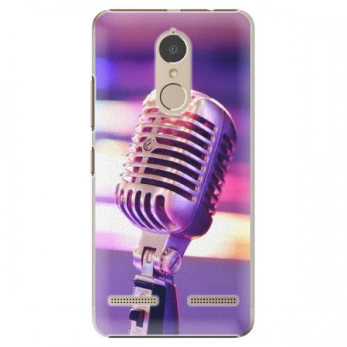 Plastové pouzdro iSaprio - Vintage Microphone - Lenovo K6