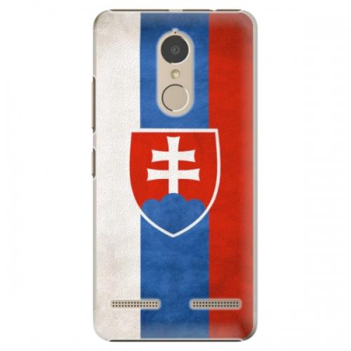 Plastové pouzdro iSaprio - Slovakia Flag - Lenovo K6