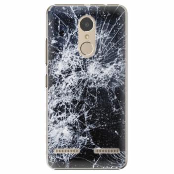Plastové pouzdro iSaprio - Cracked - Lenovo K6