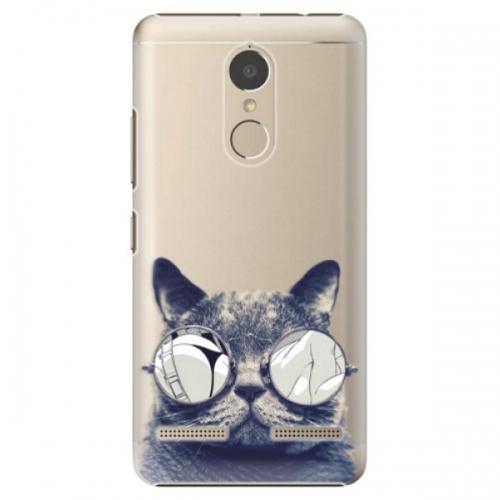 Plastové pouzdro iSaprio - Crazy Cat 01 - Lenovo K6