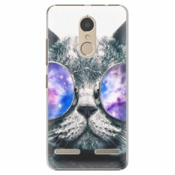 Plastové pouzdro iSaprio - Galaxy Cat - Lenovo K6