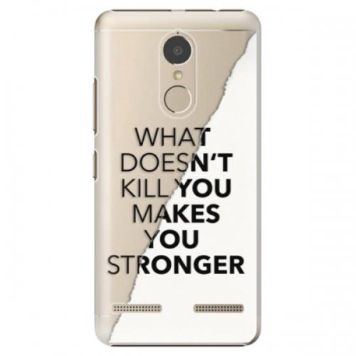 Plastové pouzdro iSaprio - Makes You Stronger - Lenovo K6
