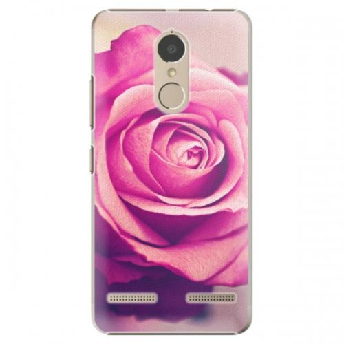 Plastové pouzdro iSaprio - Pink Rose - Lenovo K6