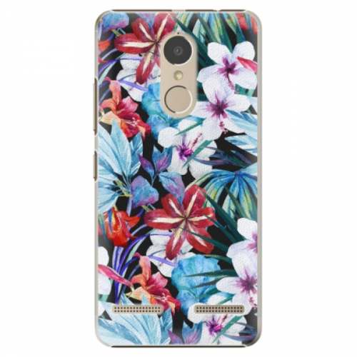 Plastové pouzdro iSaprio - Tropical Flowers 05 - Lenovo K6