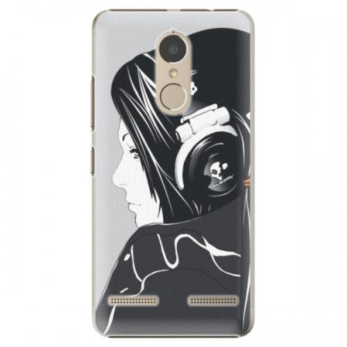 Plastové pouzdro iSaprio - Headphones - Lenovo K6