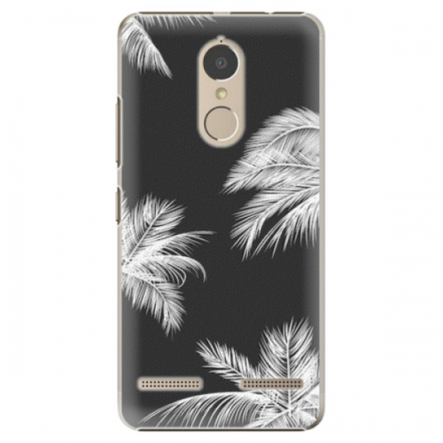 Plastové pouzdro iSaprio - White Palm - Lenovo K6