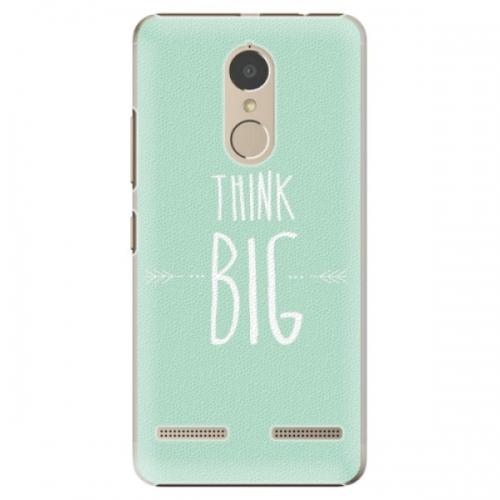 Plastové pouzdro iSaprio - Think Big - Lenovo K6