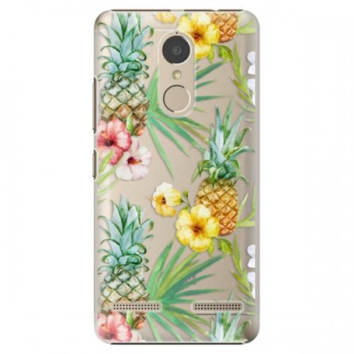 Plastové pouzdro iSaprio - Pineapple Pattern 02 - Lenovo K6