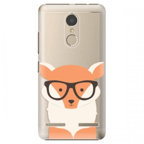 Plastové pouzdro iSaprio - Orange Fox - Lenovo K6