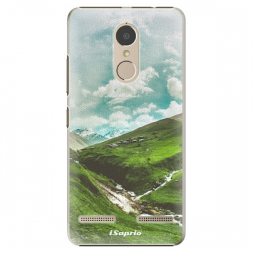 Plastové pouzdro iSaprio - Green Valley - Lenovo K6