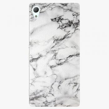 Plastový kryt iSaprio - White Marble 01 - Sony Xperia Z3+ / Z4
