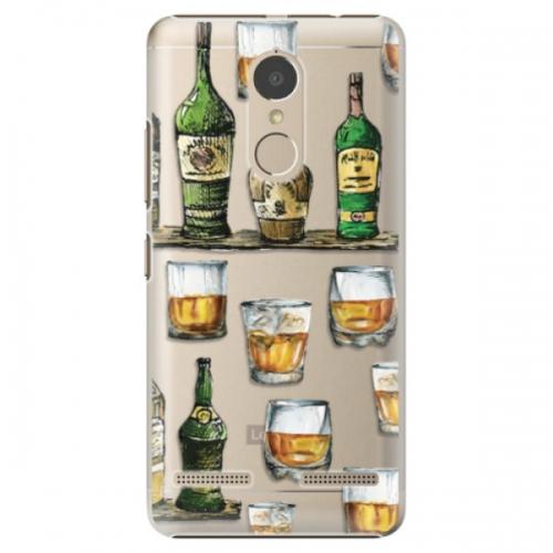 Plastové pouzdro iSaprio - Whisky pattern - Lenovo K6