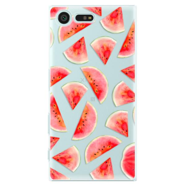 Plastové pouzdro iSaprio - Melon Pattern 02 - Sony Xperia X Compact