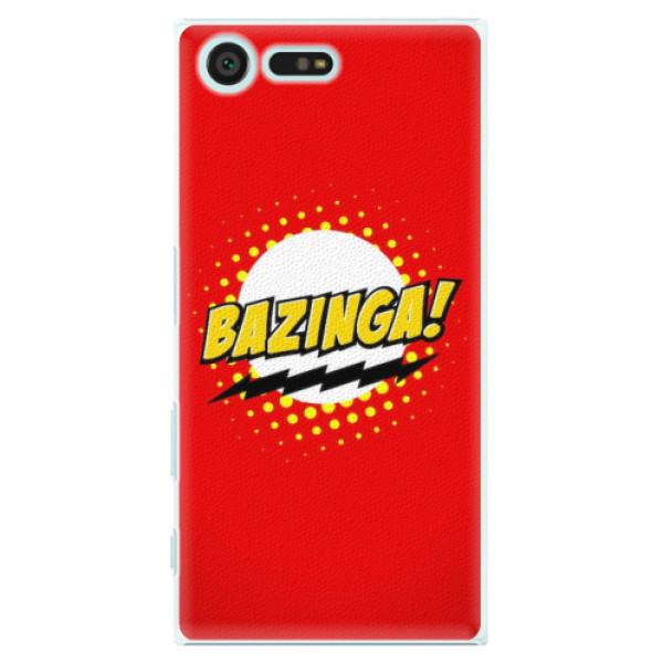 Plastové pouzdro iSaprio - Bazinga 01 - Sony Xperia X Compact
