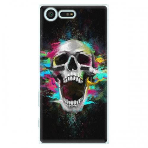 Plastové pouzdro iSaprio - Skull in Colors - Sony Xperia X Compact