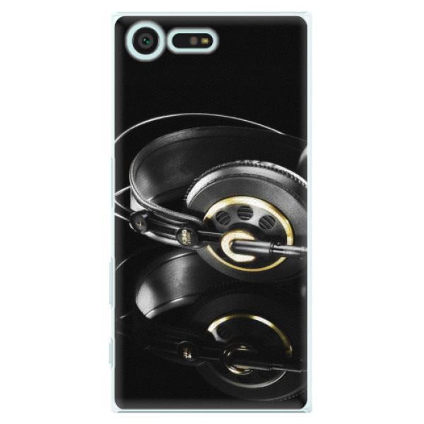 Plastové pouzdro iSaprio - Headphones 02 - Sony Xperia X Compact