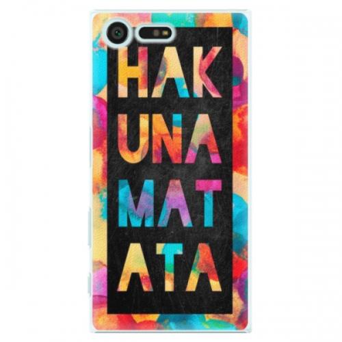 Plastové pouzdro iSaprio - Hakuna Matata 01 - Sony Xperia X Compact