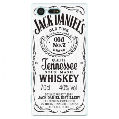 Plastové pouzdro iSaprio - Jack White - Sony Xperia X Compact