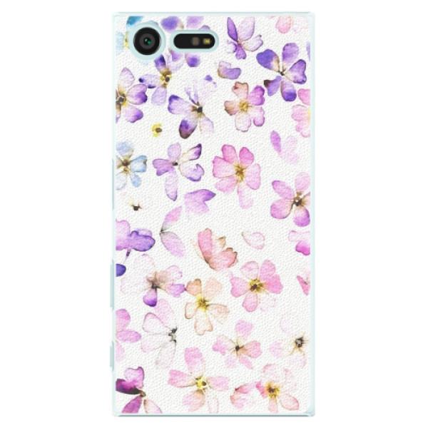 Plastové pouzdro iSaprio - Wildflowers - Sony Xperia X Compact