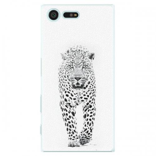Plastové pouzdro iSaprio - White Jaguar - Sony Xperia X Compact