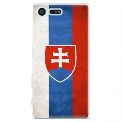 Plastové pouzdro iSaprio - Slovakia Flag - Sony Xperia X Compact