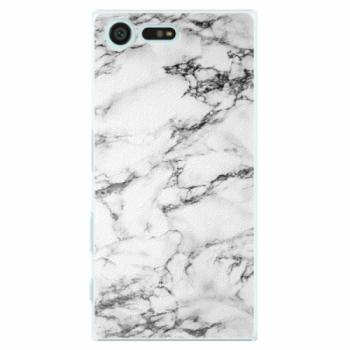 Plastové pouzdro iSaprio - White Marble 01 - Sony Xperia X Compact